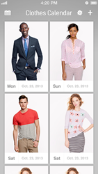 Clothes Calendar For iOS And Android Phones