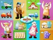 BakingFun for Kids characters and scenes