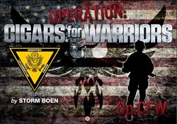cigars, operation cigars for warriors, cigar charity