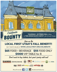 Buy Local First: Celebrate the Bounty, October 10, 6 - 10 p.m. Buy tickets online at: www.localfirst.org/celebrate