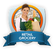 The Retail Grocery Library addresses the top concerns of grocers including ensuring employee safety, reducing turnover rates, improving productivity and increasing profitability.