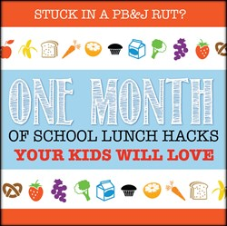 school lunch hacks