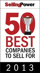 Selling Power 50 Best Companies to Sell For 2013