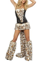 women leopard costume