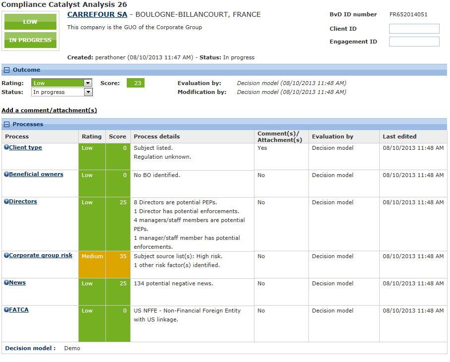 bureau van dijk lance un nouvel outil sur le march u00e9 de la conformit u00e9  compliance catalyst