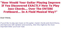 jazz guitar lessons how jazz guitar chord system