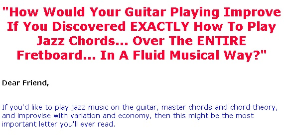 Jazz Guitar Lessons Jazz Guitar Chord System Helps People Play
