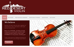 violin lessons for beginners how red desert violin