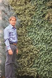 Dave MacKenzie, living wall artist