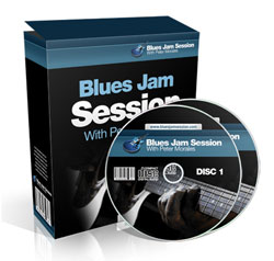 learn blues guitar how blues jam session
