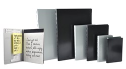 Saunders Recycled Aluminum Padfolios are proudly made in the USA and feature a recycled writing pad.