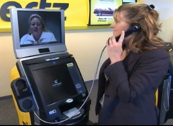 Hertz ExpressRent Kiosk Powered by Live Expert