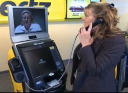 Hertz ExpressRent Kiosk Powered by Live Expert