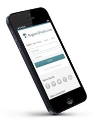 RegistryFinder.com Mobile Website