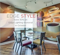 Save 30% on Edge Lighting Monorail throughout October