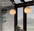 Save 30% on LBL Lighting - Now through October 14