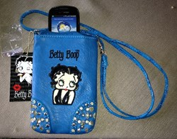 Betty Boop CrossBody Cell Phone Purse