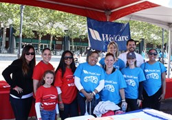 WellCare employees, friends and family members at the American Diabetes Association's Step Out: Walk to Stop Diabetes® event in New York City on September 28.
