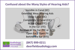 Hearing Aid Style Guide from Audiology Associates of Deerfield of Deerfield IL