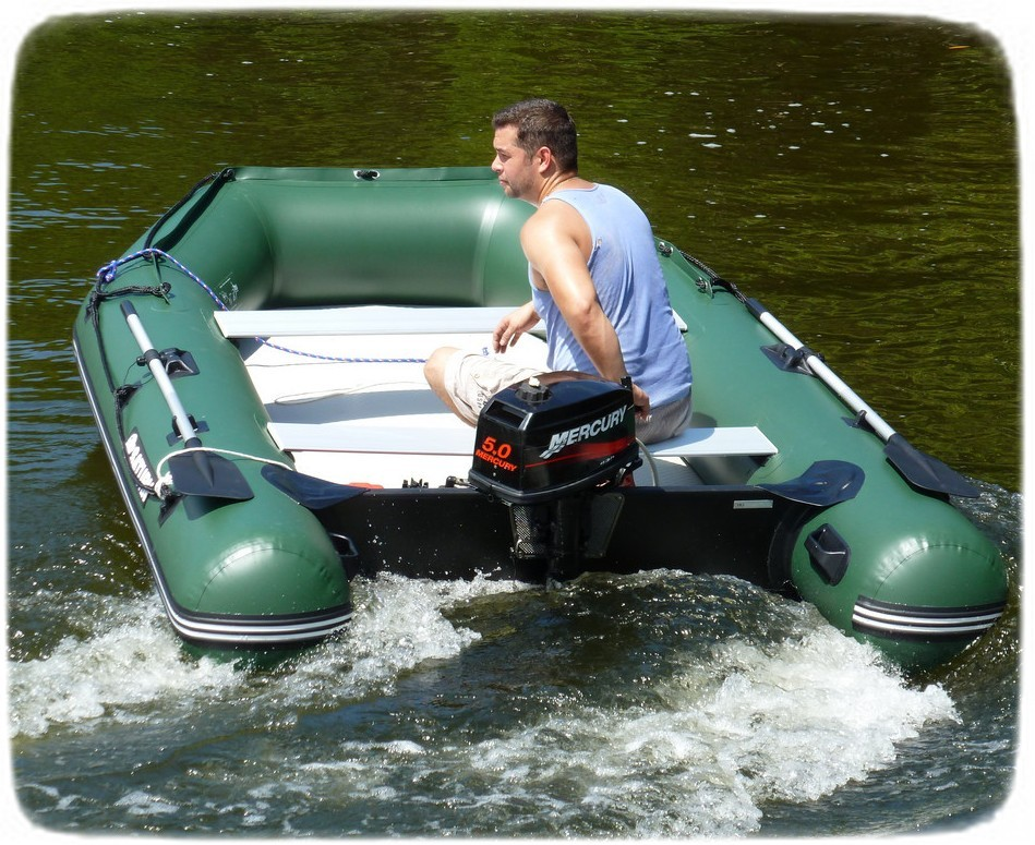 The 11 saturn extra wide inflatable fishing boat from for Inflatable boats for fishing