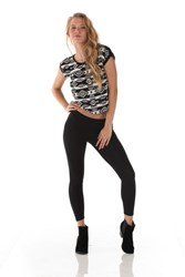 The Short Sleeve Ikat Top by A2M USA