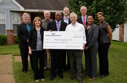 HOPE and FHLB Dallas Present $20,000 Check to Home Again