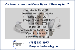 Hearing Aid Model List from Progressive Hearing of North Miami FL