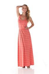 Maxi Stripe Dresses by A2M USA