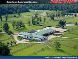 Absolute auction horse farm in Ohio
