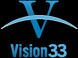 Vision33 logo