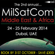 The leading event for Military Satellite Communication professionals...