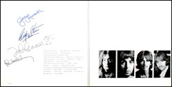 The Beatles Fully Signed White Album