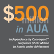 Independence by Convergent™ Surpasses $500 Million in Assets Under Advisement