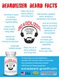 Beardilizer, a Dietary Supplement for Men to Promote Beard Growth,...