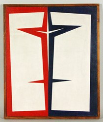 Ralph Coburn, Abstract, Oil on Canvas