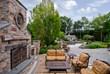 Luxury Outdoor Fireplace Design Ideas, Bergen County, Northern NJ
