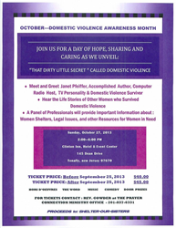 That Dirty Little Secret Called Domestic Violence October 2013 Symposium