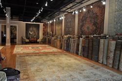 Surena Rugs' Spacious Showroom