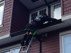 Fall is a busy time a year for gutter cleaning, something every homeowner should be doing annually.