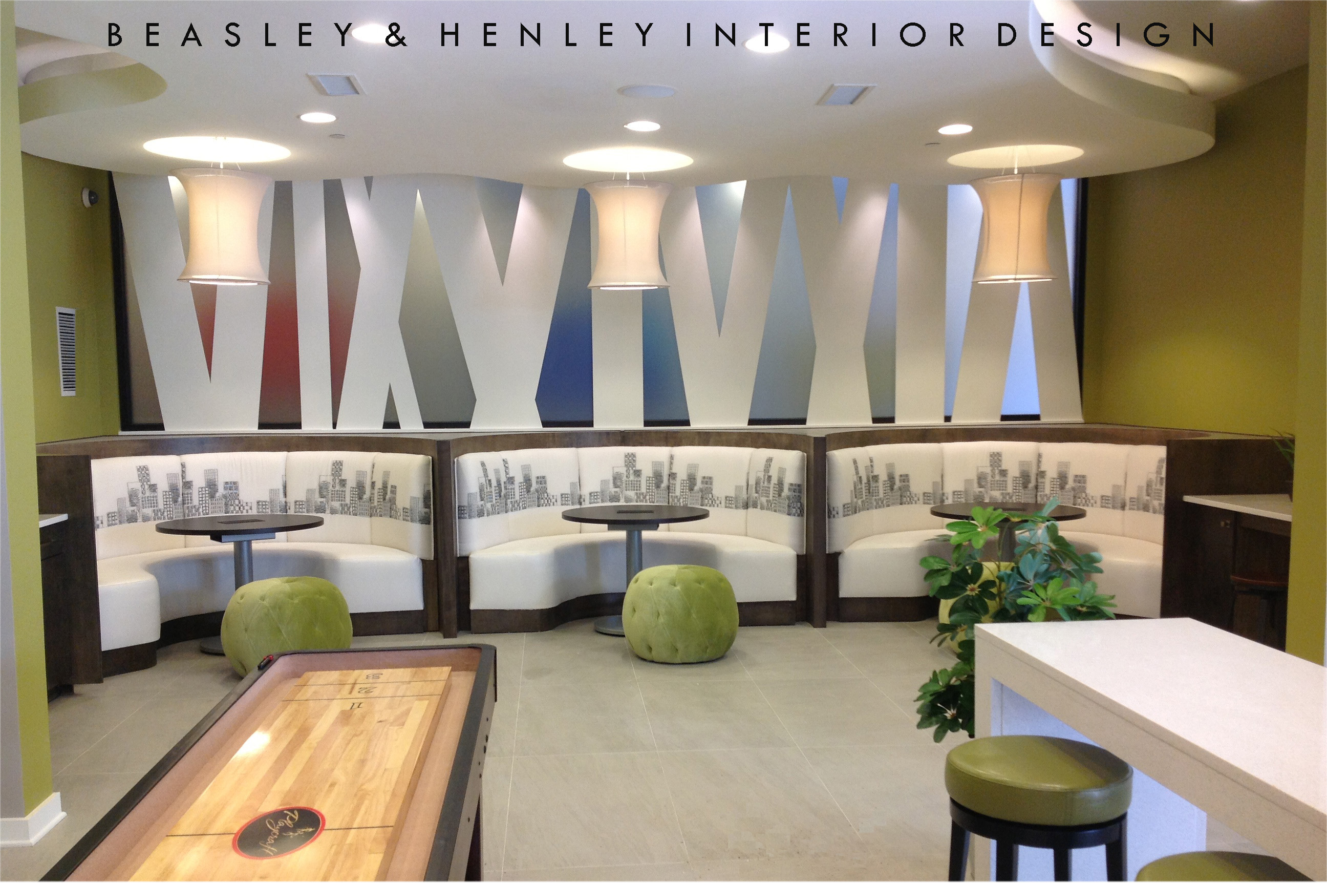 Cyber Cafe @1377by Beasley U0026 Henley Interior Design For Hines In Atlanta ...