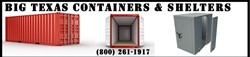 Big Texas Containers is now offering high-quality high quality used and new shipping containers, tornado shelters, and safe rooms at prices lower than any of their competitors. Full details are available online at http://bigtexascontainers.com.
