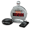 "The New SBS550bc ""Skull"" Extra-Loud, Vibrating Alarm Clock from Sonic..."