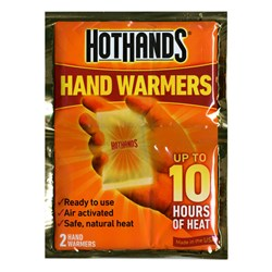 HotHands Air Activated Hand Warmers