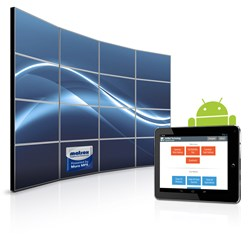 New VuWall Technology Android App for Matrox Mura-powered Video Walls