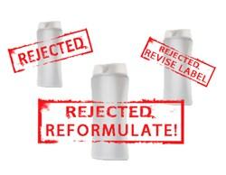 Regulation changes require reformulation
