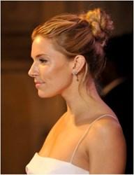 Sienna Miller in Adonis Rose Earrings