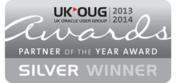 Panaya - Silver Winner of UKOUG Partner of Year Awards 2013