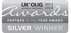 Panaya - Silver Winner of UKOUG Partner of Year Awards 2013
