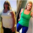 Before and After Texas Fit Chick Aimee