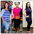 Before and after of Texas Fit Chick Christy
